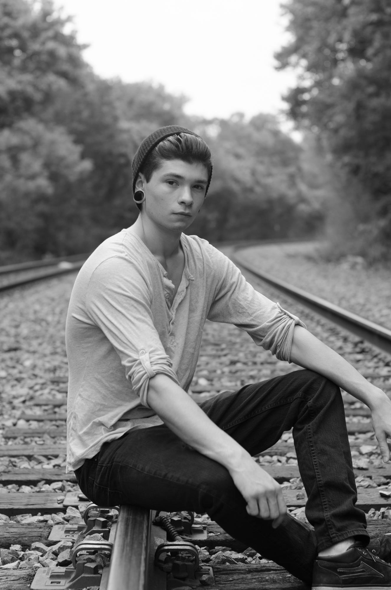 Luke Smith, Class of 2015, Senior Photos.